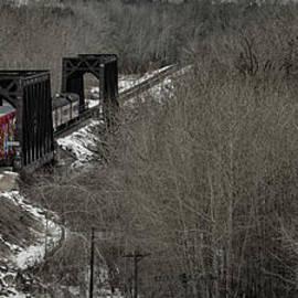 Brad Allen Fine Art - Canadian Pacific Holiday Train 2018 I