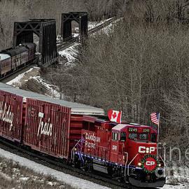 Canadian Pacific Holiday Train 2018 II by Brad Allen Fine Art