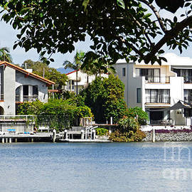 Canal Front Homes. by Trudee Hunter