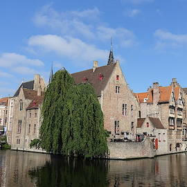 Sunny Day in Bruges by Patricia Caron