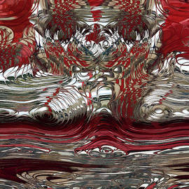 Candy Apple Red And Chrome Reflections by Jack Zulli