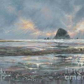 Cannon Beach Glow by Paul Henderson