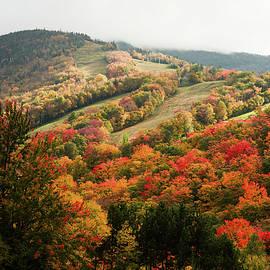 Cannon Mountain fall foliage by Jeff Folger