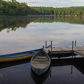 Bill Ryan - Canoe or rowboat- Kezer Lake