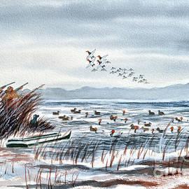 Bill Holkham - Canvasback Duck Hunting