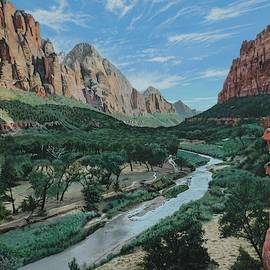 Canyon Shadows by Michael Nowak