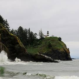 Cape Disappointment Lighthouse - 2 by Christy Pooschke