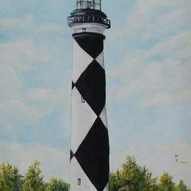 Cape Lookout Lighthouse by Ronald Lunn