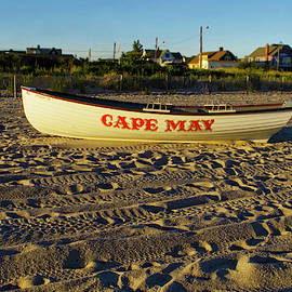 Cape May Lifeguard Boat by Sally Weigand