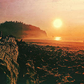 Cape Meares Beach by Chriss Pagani