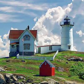 Cape Neddick Nubble Lighthouse by Anthony Dezenzio