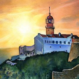 Cape Saint Vincente Lighthouse Algarve by Dora Hathazi Mendes