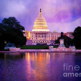 Capitol Lights by Scott Kemper