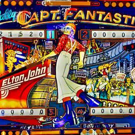 1976 Capt. Fantastic Pinball Machine by Joan Reese