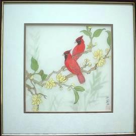 Cardinal Musing by Amber Chiang