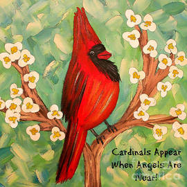 Tina LeCour - Cardinals Appear When Angels Are Near