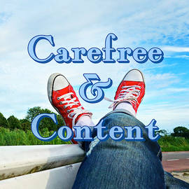 Carefree and Content by Clive Littin