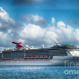 Caribbean Cruising by Judy Hall-Folde