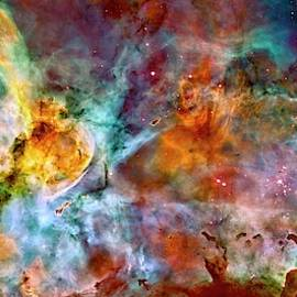 Carina Nebula - Wide Panel by Paul W Faust - Impressions of Light