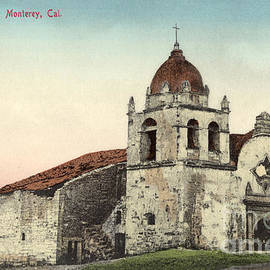Carmel Mission, Monterey, Cal. Circa 1880 by California Views Archives Mr Pat Hathaway Archives