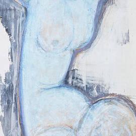 Caryatid, Circa 1914 by Amedeo Modigliani
