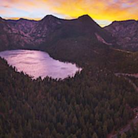 Cascade Ablaze By Brad Scott by Brad Scott