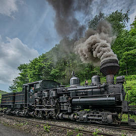 Cass Scenic Railroad Shay #11 by Jim Pearson