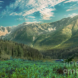 Cassiar Highway Mountains by Robert Bales