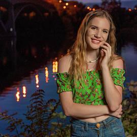 Cassidy At Folsom Bridge by Jonathan Hansen