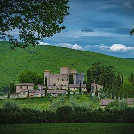Castello di Meleto by Chris Lord