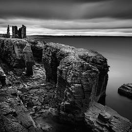 Castle Sinclair Girnigoe by Dave Bowman