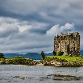 Castle Stalker - Scotland by Stuart Litoff