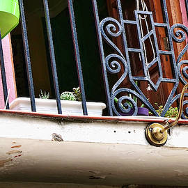 Cat On a Hot Balcony - Granada by Allen Beatty