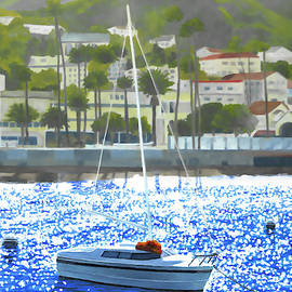 Catalina Boat by Douglas Castleman