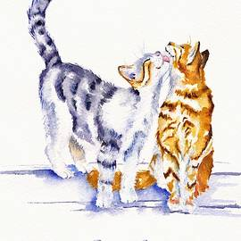 Cats in Love by Debra Hall