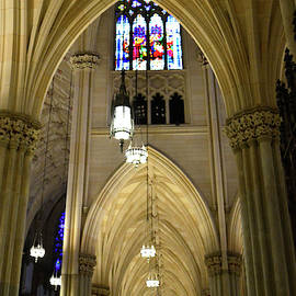 Ceiling Detail #1, St. Patrick's Cathedral by Jerry Griffin