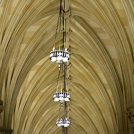 Ceiling Detail #2, St. Patrick's Cathedral by Jerry Griffin