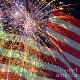 Celebrations 4th July by Kaye Menner by Kaye Menner