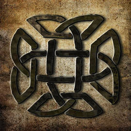 Metalwork Celtic Symbol by Kandy Hurley