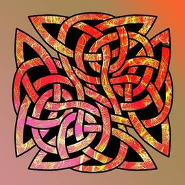 Celtic Shield Knot 9 by Joan Stratton