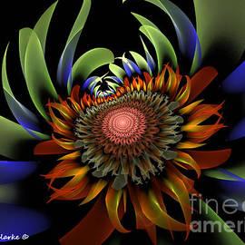 Centauri Sunflower by Bunny Clarke