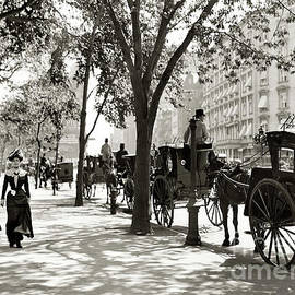 Central Park - 1900 by Doc Braham