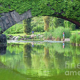 Central Park Gapstow Bridge II by Regina Geoghan
