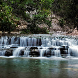 Chalk Ridge Falls Park by Jerry Connally