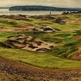 Chambers Bay Golf Course Panoramic