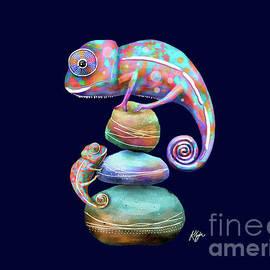 Chameleons by Karin Taylor