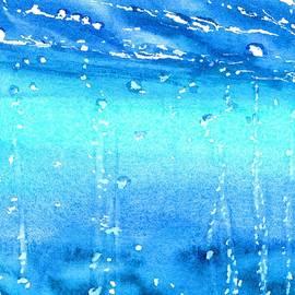 Champagne Sea 1 by Carlin Blahnik CarlinArtWatercolor
