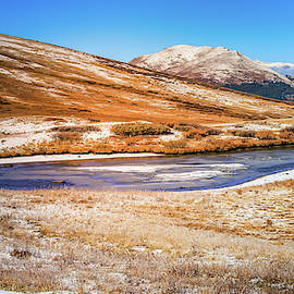 Changing Seasons On Independence Pass Colorado by Dan Sproul