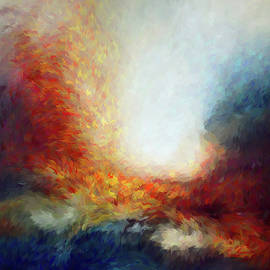 Chaotic Storm Abstract by Isabella Howard