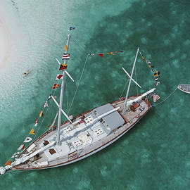 Charter Ketch by Slim Aarons